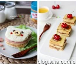 小改变大惊喜--创新花生酱三明治