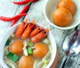 福建传统特色小吃——黄金番薯丸