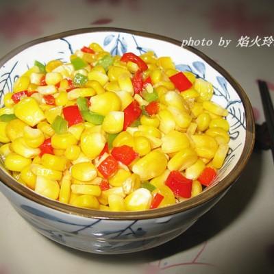 让孩子无法拒绝的美味:【素炒香甜玉米粒】