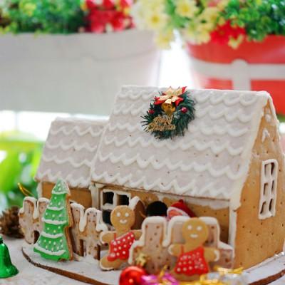 姜饼屋,每年圣诞都要盖一座房子