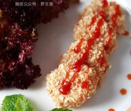 《香酥炸虾饼》,虾胶是这样练成的!
