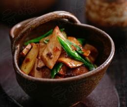豆瓣酱烤杏鲍菇