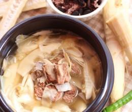 冬日温补养生汤——甜笋羊排汤