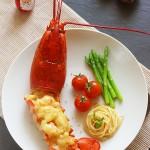 奶酪焗波士顿大龙虾