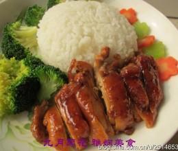 简单易做又美味——照烧鸡腿饭