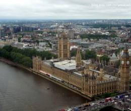 伦敦眼、伦敦鸭子水陆观光巴士游