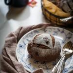 巧克力蔓越莓軟歐包