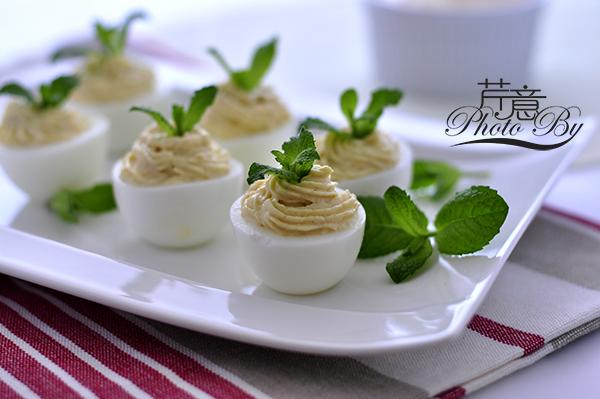 魔鬼蛋:简单又美味,换个口味吃煮蛋