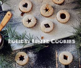 圣诞节最温暖甜蜜的伴手礼--圣诞杏仁夹心饼干
