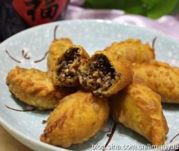 冬至换个口味吃饺子--喷喷香的核桃芝麻花生饺