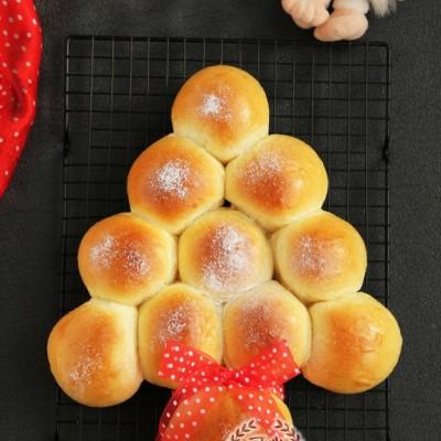 人人都能做的圣誕樹面包