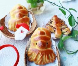 圣诞老人&圣诞树面包