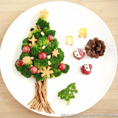 做一棵能吃的圣诞树【西兰花土豆泥圣诞树】