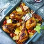 烤箱小白三招也能烤出皮脆内嫩的鸡腿【脆皮烤鸡腿】长帝特约菜谱