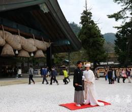 【日本】出云大社,每年全日本的神仙都来这里开年会