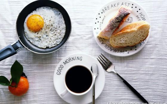 【早餐°】2016-12-30:软欧/煎蛋/咖啡/桔子