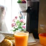 天然美味的胡萝卜橙汁【SKG原汁机试用报告】