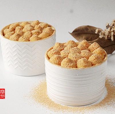 日式豆乳盒子蛋糕】(附不裂的戚风蛋糕做法)