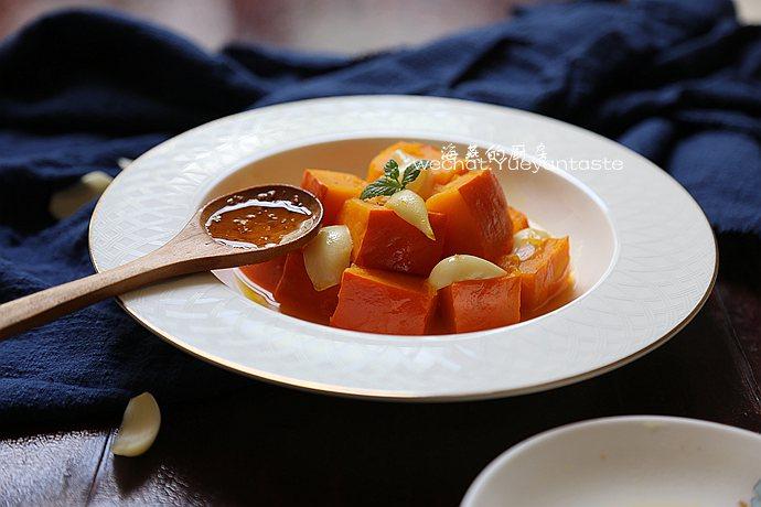 蜜汁百合南瓜--上海特色年菜冷盘