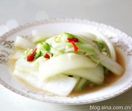 素炒大白菜
