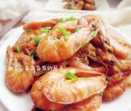 干烧基围虾