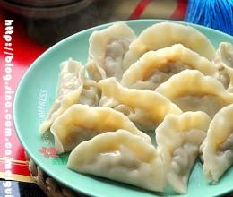 韭黄蛤蜊肉饺子