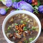 牛肉笋丁粉丝汤