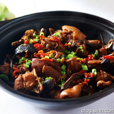 茶树菇土鸡煲