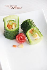 6种蔬菜盘饰