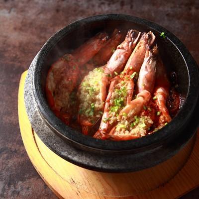 #美食新新年#《绍酒蒜香石锅虾》