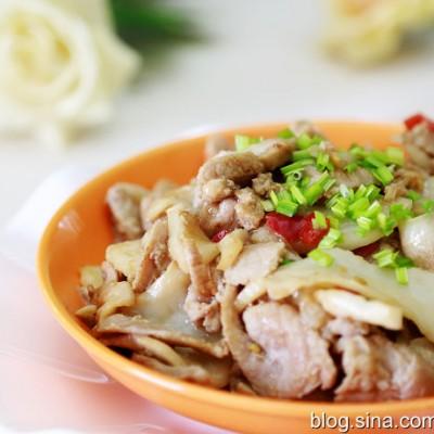 椰青炒瘦肉