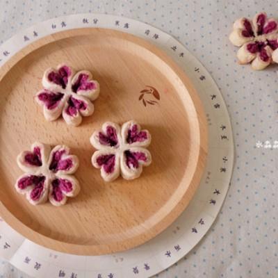 四叶草紫薯酥