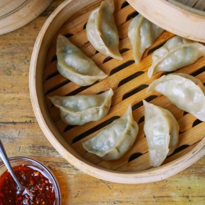 野荠菜饺子