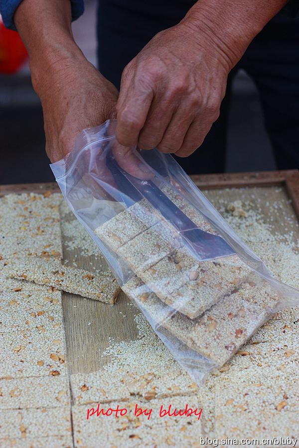 传统手工花生芝麻糖