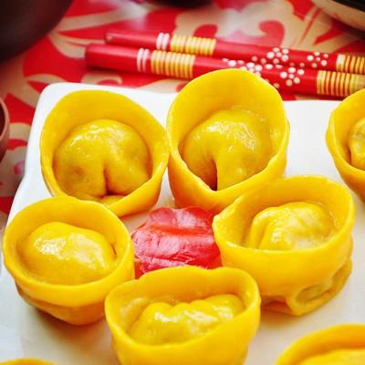黄金元宝饺子