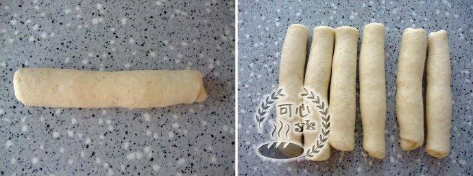 全麥三股辮子面包