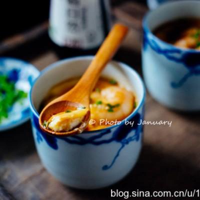 虾仁水蒸蛋