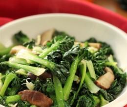 香菇炒乌塌菜--节后清肠小炒