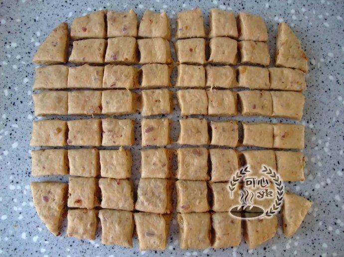 全麥紅糖大棗面包塊