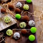 情人节的松露巧克力