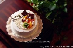 生日蛋糕(附表面装饰步骤图)