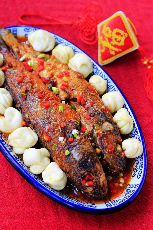 五道黑焖花卷--新疆菜