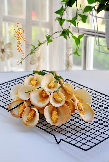 马蹄莲饼干