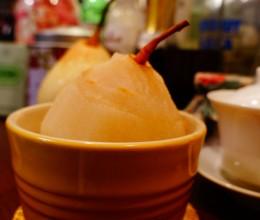 川贝冰糖炖梨-止咳化痰用食疗方