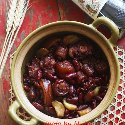 红腰豆焖猪尾--补肾补血佳肴