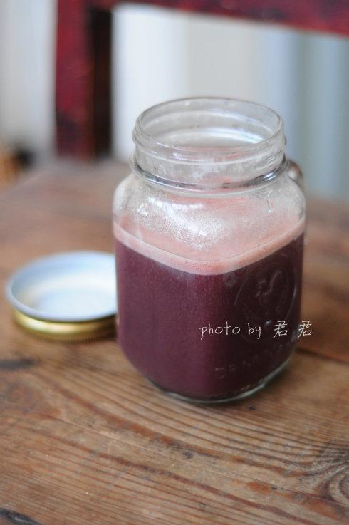 黑米红豆豆浆