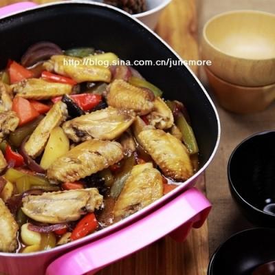 酱香鸡翅锅