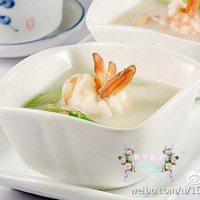 虾仁豆浆--美容润肠,补气益血