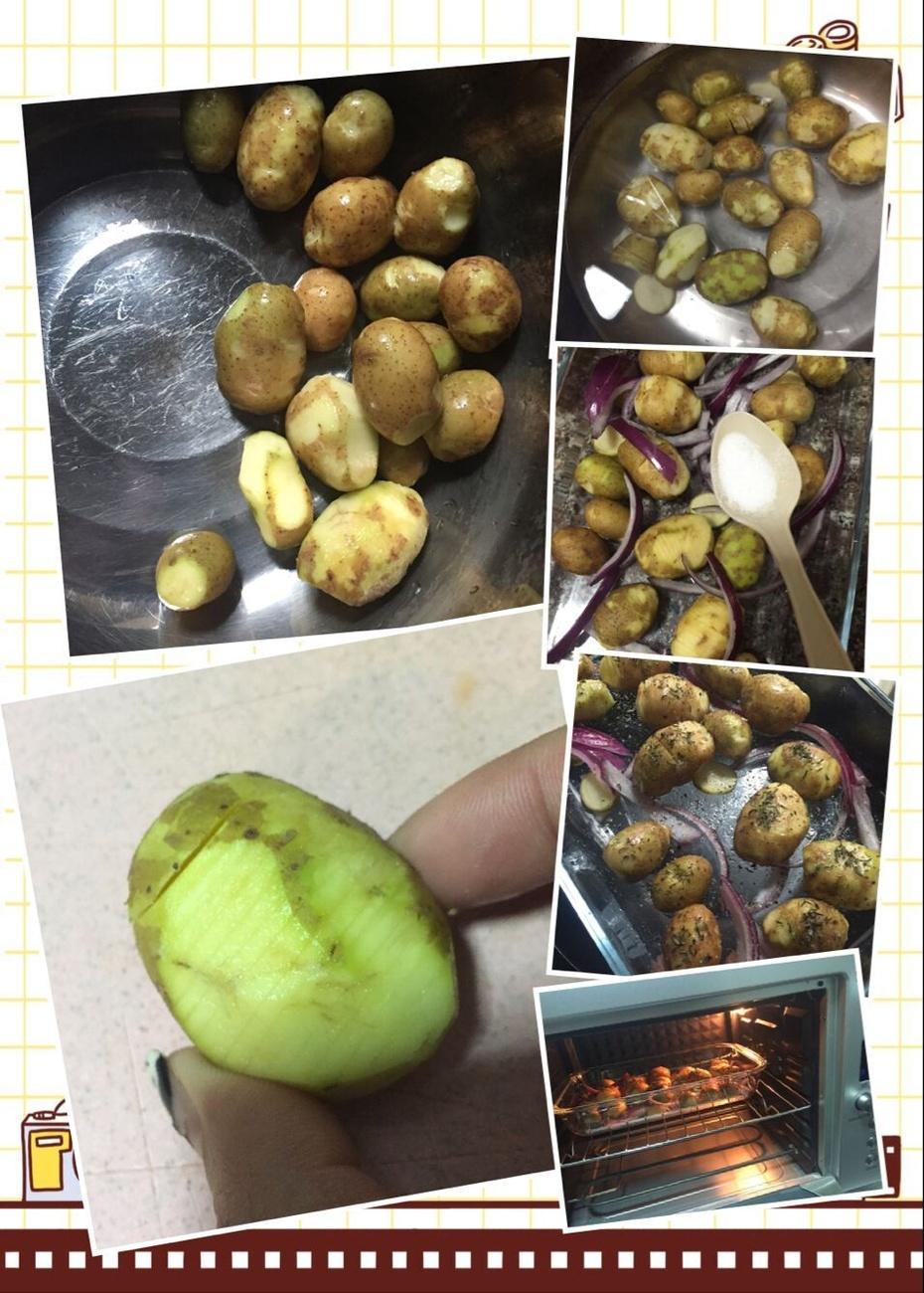 香烤小土豆