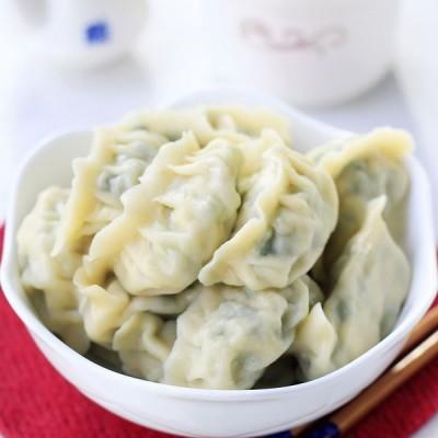 韭菜鸡肉饺子